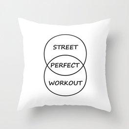 Street Workout Throw Pillow