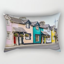Colourful Street Rectangular Pillow