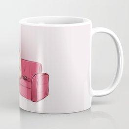 The smocking Dick Coffee Mug