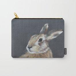 The Hares Stare Carry-All Pouch