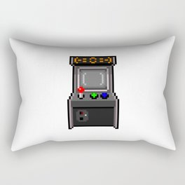 The arcade cabinet Rectangular Pillow