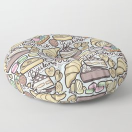 Boulangerie Floor Pillow