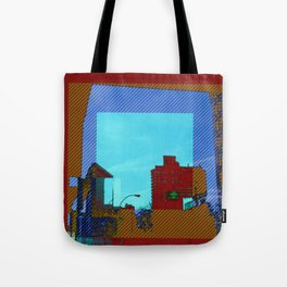 iron clad in color Tote Bag