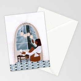 Cool Night Stationery Cards
