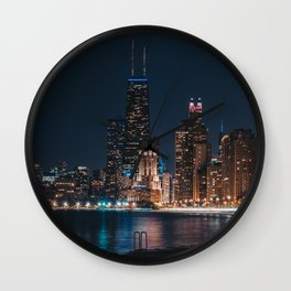 North Avenue Beach Wall Clock