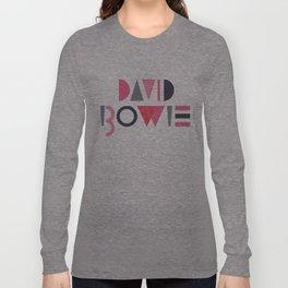 Memphis Bowie Long Sleeve T-shirt