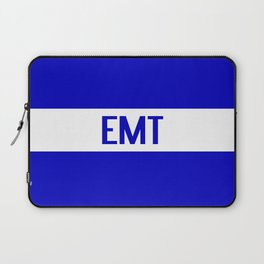 EMT: The Thin White Line Laptop Sleeve
