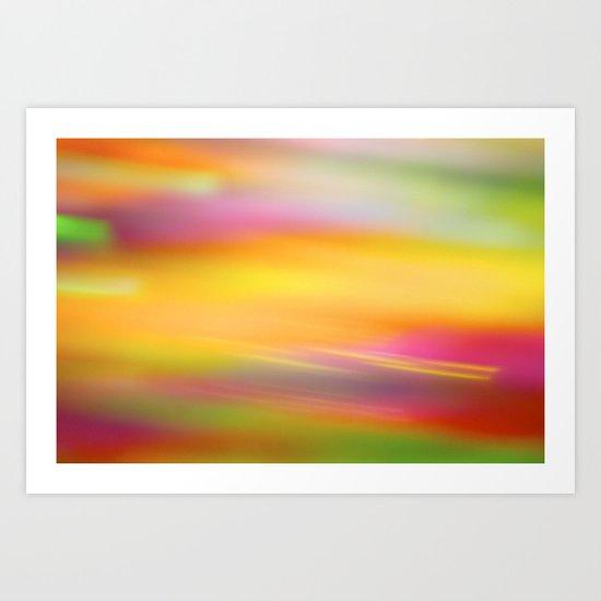 Paint & Sequins 7996 Art Print