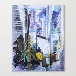 Untitled 1 - (città toscana) Canvas Print