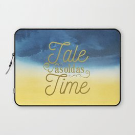 Tale As Old As Time - Beauty and the Beast (color) Laptop Sleeve