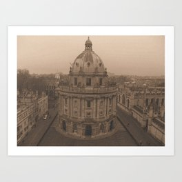 Radcliffe Camera Art Print