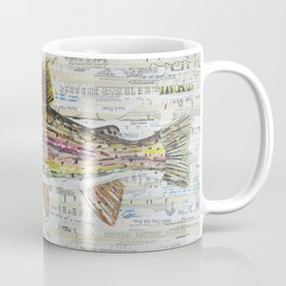 Rainbow Trout Collage by C.E. White Coffee Mug