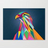 eagle Canvas Prints featuring Eagle by mark ashkenazi