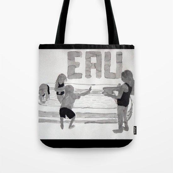 Agua - Eau - Water Tote Bag