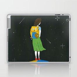 An extraordinary girl Laptop & iPad Skin