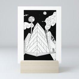Future City Mini Art Print