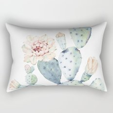 The Prettiest Cactus Rectangular Pillow