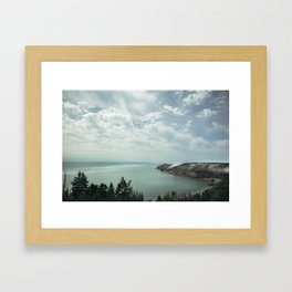 The Rolling Fog of the Bay of Fundy Framed Art Print