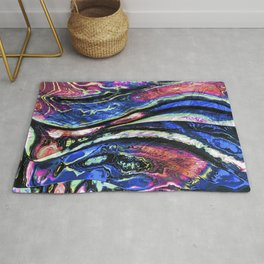 Canvas of Contemporary Art Rug