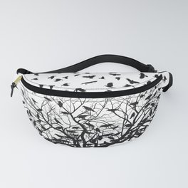 Crows in a tree Fanny Pack