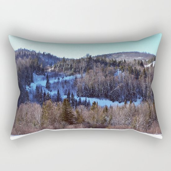Switchback Trail Rectangular Pillow