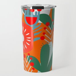 Cacti, fruits and flowers Travel Mug