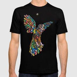 Peruvian bird Gallito de las Rocas Colorful version T-shirt