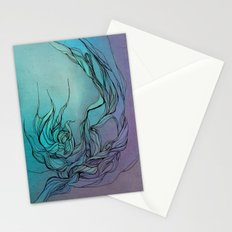 Abstract fantasy Stationery Cards