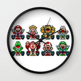 Kart Heroes Wall Clock