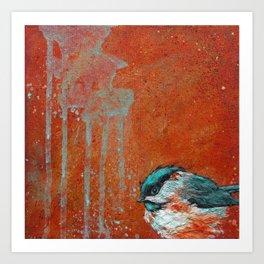 Chickadee Falls 1 Art Print