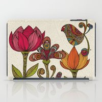 garden iPad Cases featuring In the garden by Valentina Harper