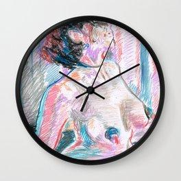 Chouchou 4 Wall Clock