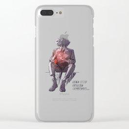 Space Cowboy's Epilogue Clear iPhone Case