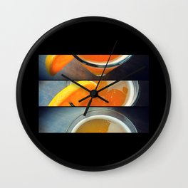 Wheat Beer Wall Clock