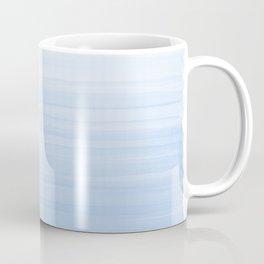 Pastel Blue Strokes Coffee Mug
