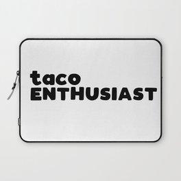 taco enthusiast Laptop Sleeve