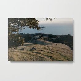 California Mount Tamalpais Metal Print