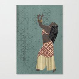 Belly dancer 1 Canvas Print