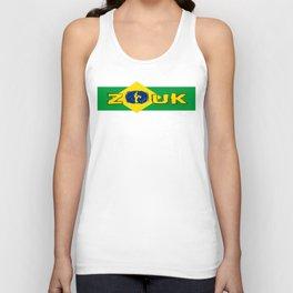 lets dance brazilian zouk flag design Unisex Tank Top