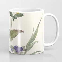 Pieter Ernst Hendrik Praetorius - Studies of wild flowers (1837) Coffee Mug