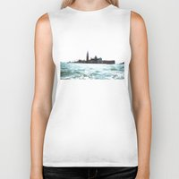 venice Biker Tanks featuring venice. by zenitt