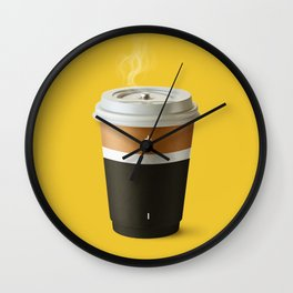 Coffee battery Wall Clock