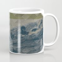 surf Mugs featuring Surf by Last Call