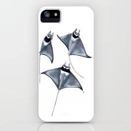 Devil fish Manta ray Mobula mobular iPhone Case