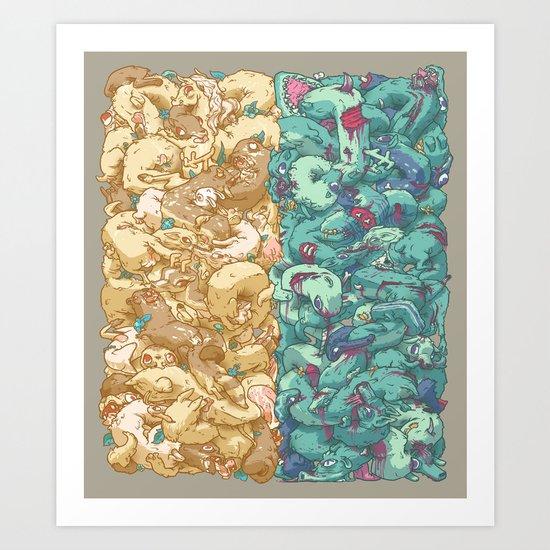 Saturnalia Donnybrook Art Print