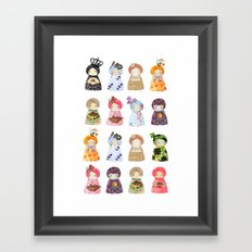 PaperDolls Framed Art Print