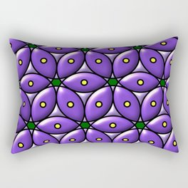 Circles Rectangular Pillow