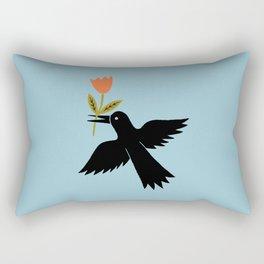the bird gift Rectangular Pillow