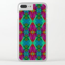Varietile 50 (Pyramitiles 2 & 5 Repeating) Clear iPhone Case
