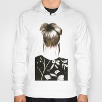 emma stone Hoodies featuring Emma  by Yaz Raja Designs